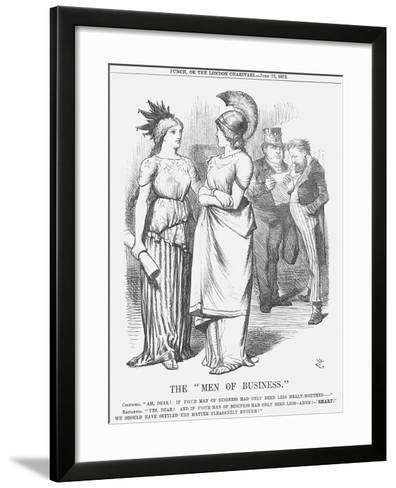 The Men of Business, 1872-Joseph Swain-Framed Art Print