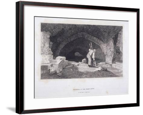 Fleet River, London, 1851-John Wykeham Archer-Framed Art Print
