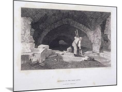 Fleet River, London, 1851-John Wykeham Archer-Mounted Giclee Print