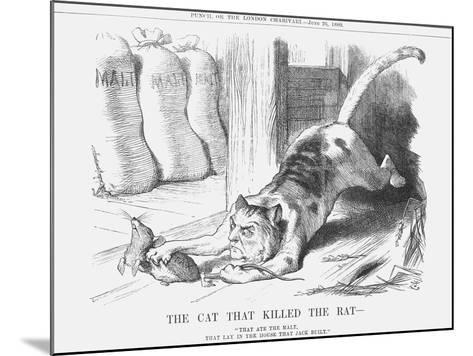 The Cat That Killed the Rat, 1880-Joseph Swain-Mounted Giclee Print