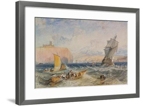 Whitby, 1824-J^ M^ W^ Turner-Framed Art Print