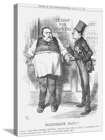Degenerate Days!!, 1874-Joseph Swain-Stretched Canvas Print