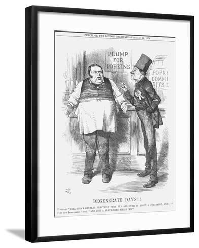 Degenerate Days!!, 1874-Joseph Swain-Framed Art Print