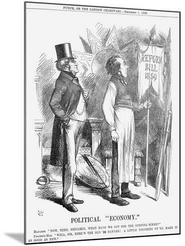 Political Economy, 1866-John Tenniel-Mounted Giclee Print