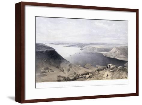 The North Side of the Harbour at Sebastopol, 22 June 1855-Jonathan Needham-Framed Art Print