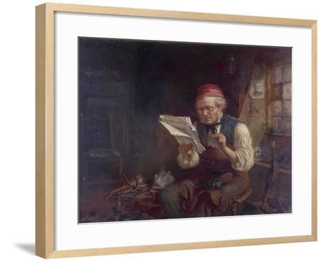 The Politician, 1871-Jonathon Pratt-Framed Art Print