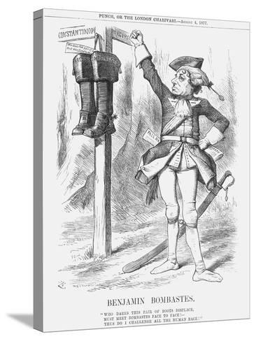 Benjamin Bombastes, 1877-Joseph Swain-Stretched Canvas Print