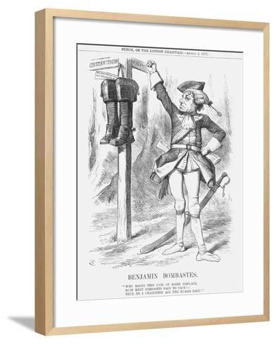 Benjamin Bombastes, 1877-Joseph Swain-Framed Art Print