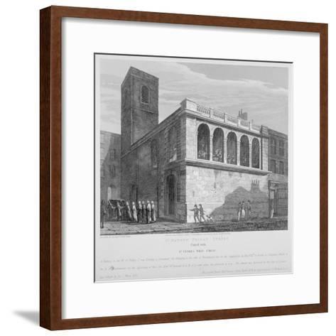 Church of St Matthew, Friday Street, City of London, 1814-Joseph Skelton-Framed Art Print
