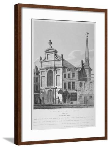 Church of St Mildred, Bread Street, City of London, 1838-Joseph Skelton-Framed Art Print