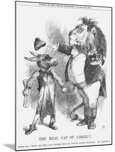 The Real Cap of Liberty, 1871-Joseph Swain-Mounted Giclee Print