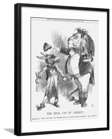 The Real Cap of Liberty, 1871-Joseph Swain-Framed Art Print