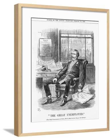 The Great Unemployed, 1886-Joseph Swain-Framed Art Print