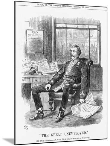 The Great Unemployed, 1886-Joseph Swain-Mounted Giclee Print