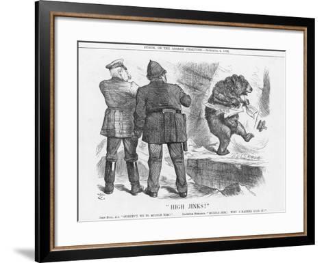High Jinks!, 1886-Joseph Swain-Framed Art Print