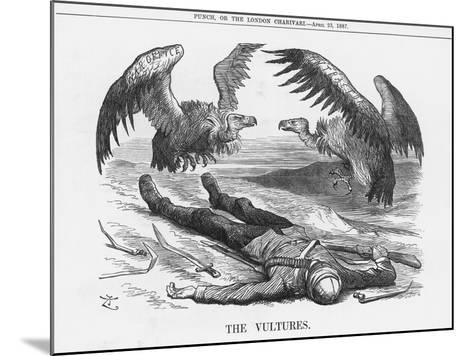 The Vultures, 1887-Joseph Swain-Mounted Giclee Print