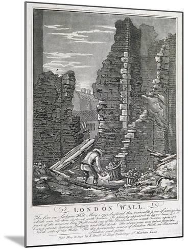 Ludgate Hill, London, 1792-John Thomas Smith-Mounted Giclee Print