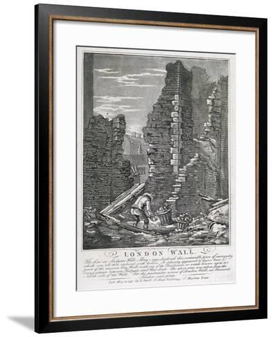 Ludgate Hill, London, 1792-John Thomas Smith-Framed Art Print