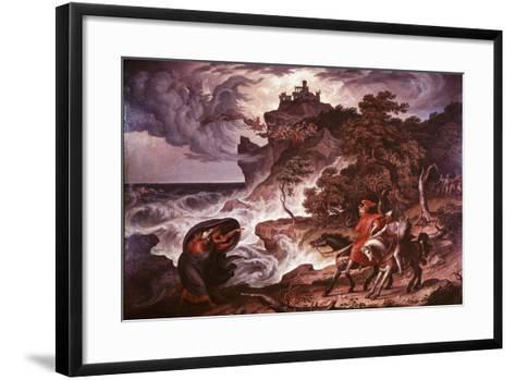 Macbeth and the Witches, 1835-Joseph Anton Kock-Framed Art Print
