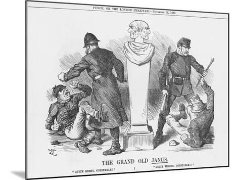 The Grand Old Janus, 1887-Joseph Swain-Mounted Giclee Print