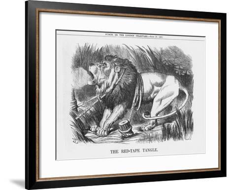 The Red-Tape Tangle, 1888-Joseph Swain-Framed Art Print