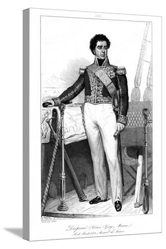 Guy-Victor Duperre (1775-184), French Admiral, 1839-Julien Leopold Boilly-Stretched Canvas Print