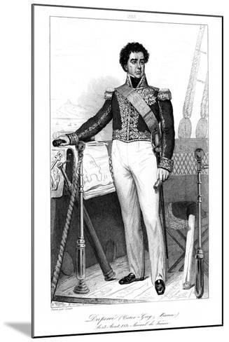 Guy-Victor Duperre (1775-184), French Admiral, 1839-Julien Leopold Boilly-Mounted Giclee Print