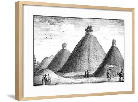 The Bartlow Hills, Raised over the Slain, 1016-June Barnato-Framed Art Print