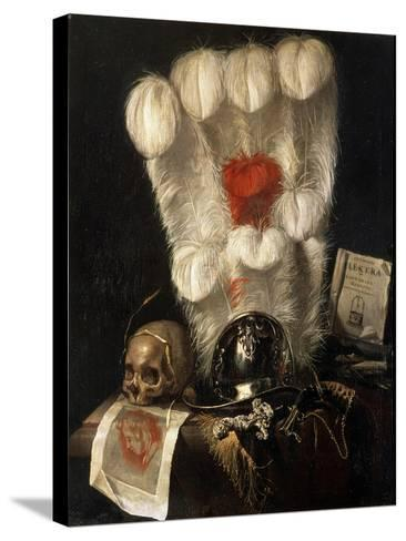 Vanitas, 17th Century-Juriaen Van Streeck-Stretched Canvas Print