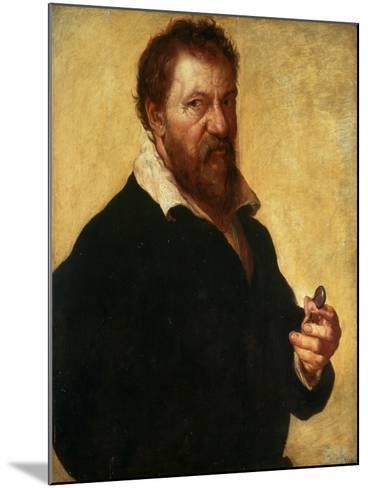 Self-Portrait, 1566-Lambert Lombard-Mounted Giclee Print