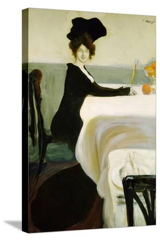 Dinner, 1902-Leon Bakst-Stretched Canvas Print