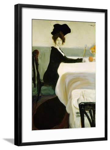 Dinner, 1902-Leon Bakst-Framed Art Print