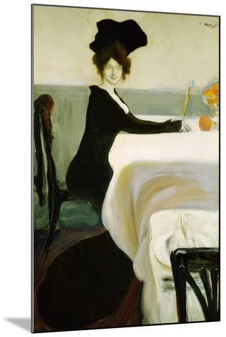 Dinner, 1902-Leon Bakst-Mounted Giclee Print