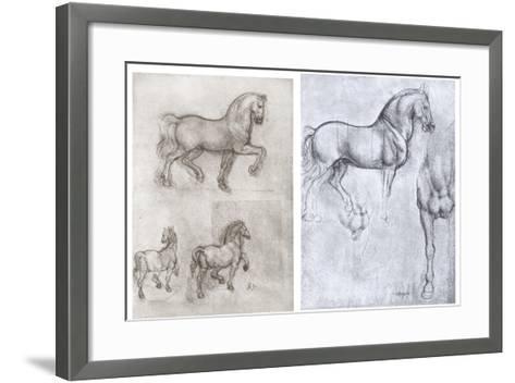 Horses, C1490-1510-Leonardo da Vinci-Framed Art Print