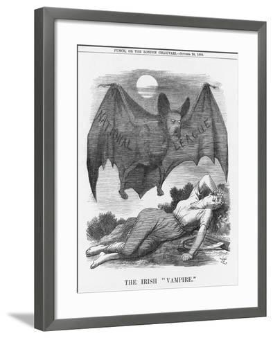 The Irish Vampire, 1885-Joseph Swain-Framed Art Print