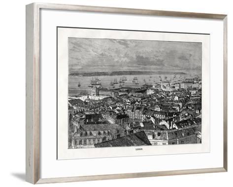 Lisbon, Portugal, 1879- Laplante-Framed Art Print