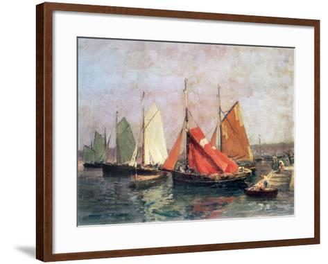 The Coast of Breton, C1907-1915-Leon Hubert-Framed Art Print