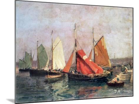 The Coast of Breton, C1907-1915-Leon Hubert-Mounted Giclee Print