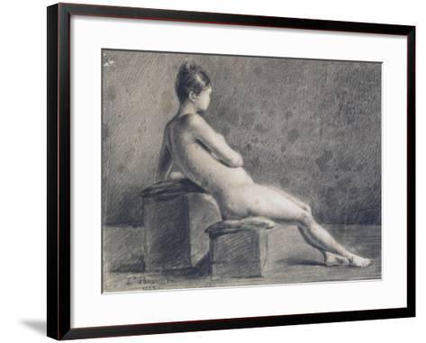 Model in Profile, C1853-1922-Leon Joseph Florentin Bonnat-Framed Art Print