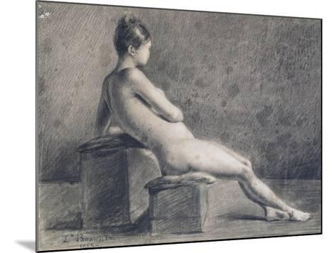 Model in Profile, C1853-1922-Leon Joseph Florentin Bonnat-Mounted Giclee Print