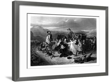 The Murder of Archbishop Sharpe, 1860-K Bourne-Framed Art Print