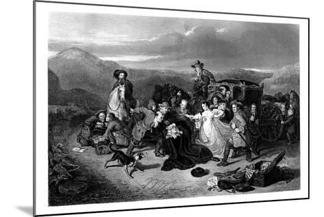 The Murder of Archbishop Sharpe, 1860-K Bourne-Mounted Giclee Print