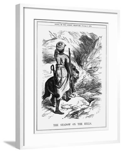 The Shadow on the Hills, 1878-Joseph Swain-Framed Art Print