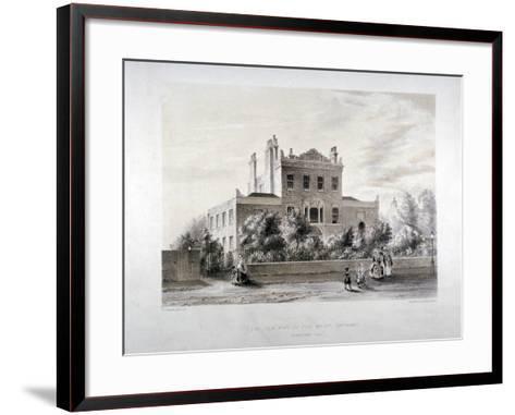 New Asylum for Infant Orphans at Stamford Hill, Stoke Newington, London, C1846-JT Balcombe-Framed Art Print