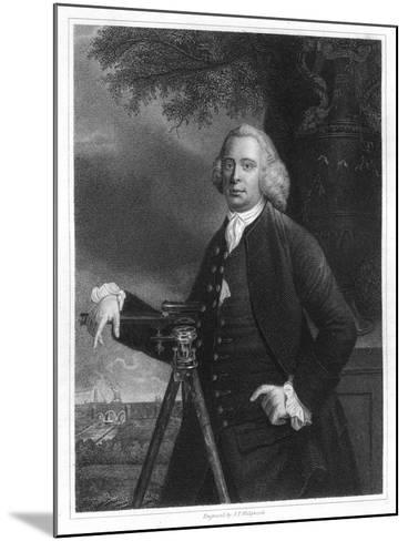James Brindley, 18th Century English Civil Engineer and Canal Builder-JT Wedgwood-Mounted Giclee Print