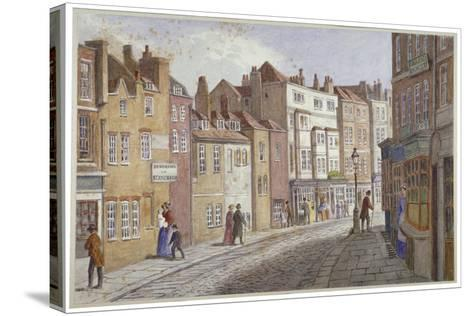 St Martin's Lane, Westminster, London, C1865-JT Wilson-Stretched Canvas Print