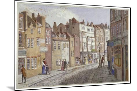 St Martin's Lane, Westminster, London, C1865-JT Wilson-Mounted Giclee Print