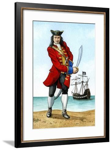 John 'Calico Jack' Rackham, (1680-172), English Pirate Captain-Karen Humpage-Framed Art Print