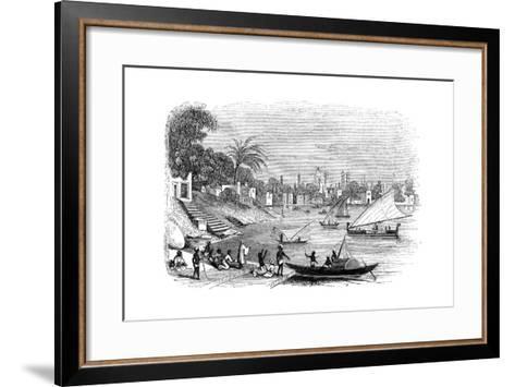 Benares, India, 1847- Kirchner-Framed Art Print