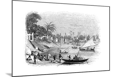 Benares, India, 1847- Kirchner-Mounted Giclee Print